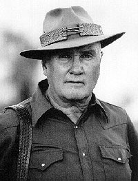 Col. Jeff Cooper, May 1920 to September 2006, inventor of the Scout Rifle Concept.