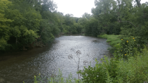 A section of the Willow River, St Croix County, Wisconsin.