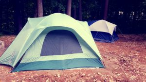 There are different types of camping, not all require a tent.