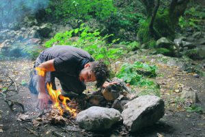 Make a fire without a modern means of producing flame - A key bushcraft skill.