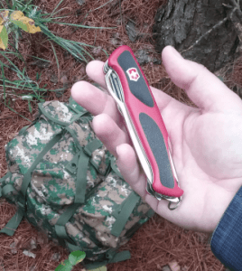 Swiss Army Knife RangerGrip 78. It's a little to big to be considered a pocket knife.