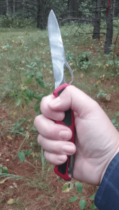 The RangerGrip 78 fits comfortably in my hand.
