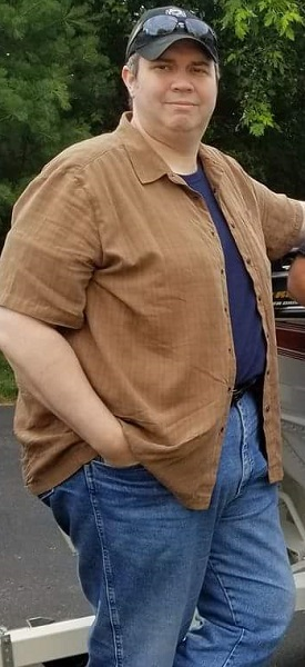 This is me June 2017. Around 320+ pounds!