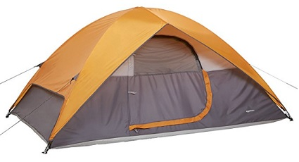 AmazonBasics 4 person tent. Nice size, and affordable for the camper on a budget with a family.