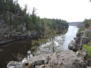 Photo taken of the St Croix National Riverway near St Croix Falls, WI & Taylor Falls, MN.