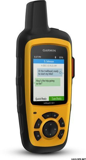 Garmin inReach SE+; communicate with friends and family