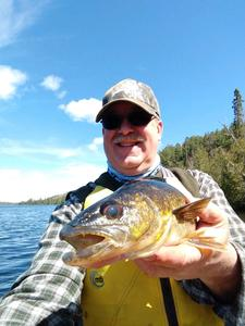 Tim M with a nice walleye.