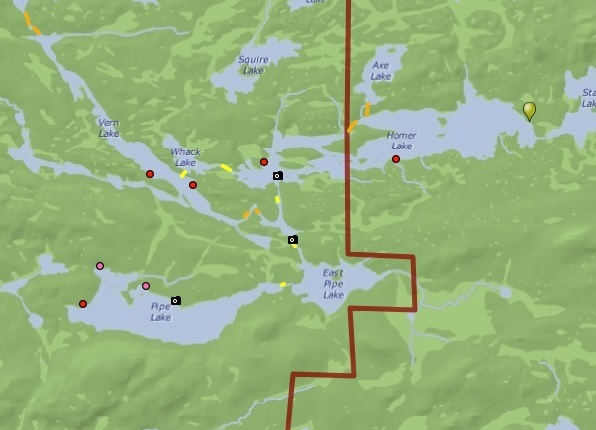 Image from Paddle Planner's free online maps.