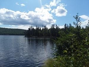Great weather in the BWCA - Vern Lake