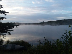 Misty Lake Morning In The BWCA